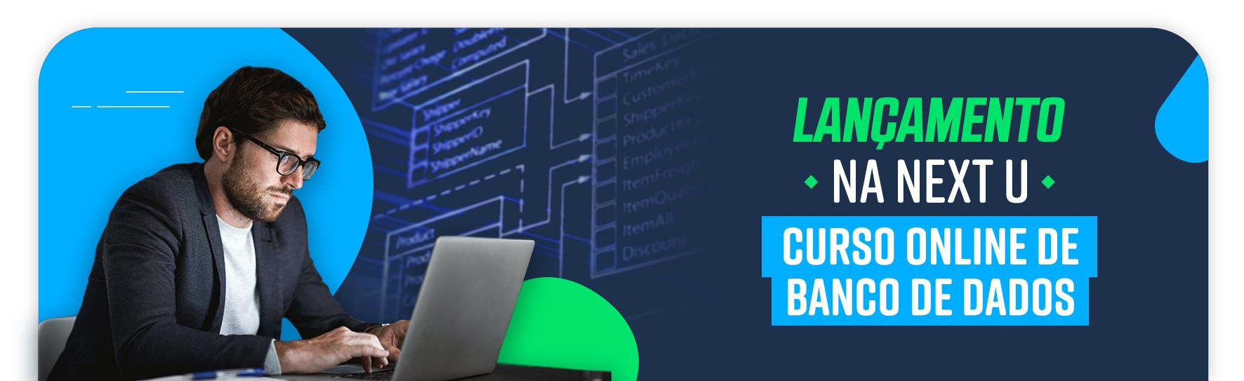 lancamento curso de banco de dados